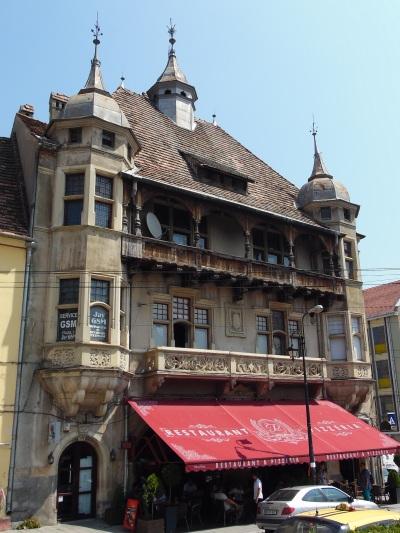 Bürgerhäuser in der Unterstadt