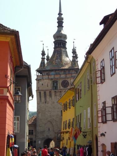 auf der Piata Cetatii (Burgplatz)